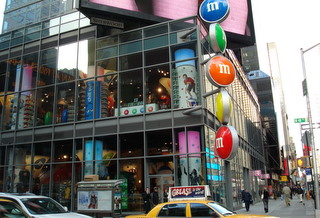 M&M World, New York
